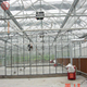 China easily assembled industrial glass greenhouse for sale