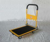 Platform hand truck hand cart folding convenient