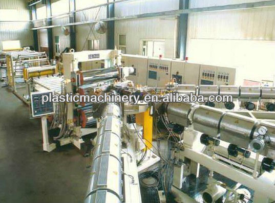 PVC WPC three-layer foam board manufacturing machinery