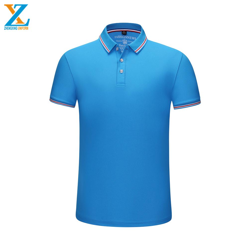 खुदरा पक्ष सीवन मिश्रण रंग आकार 30 पॉलिएस्टर 70 कपास ब्रांड पोलो शर्ट