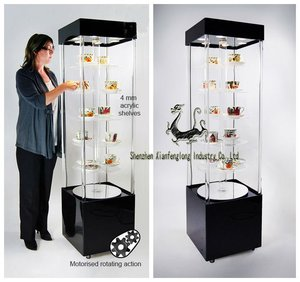 Light Showcase & Display Cabinets