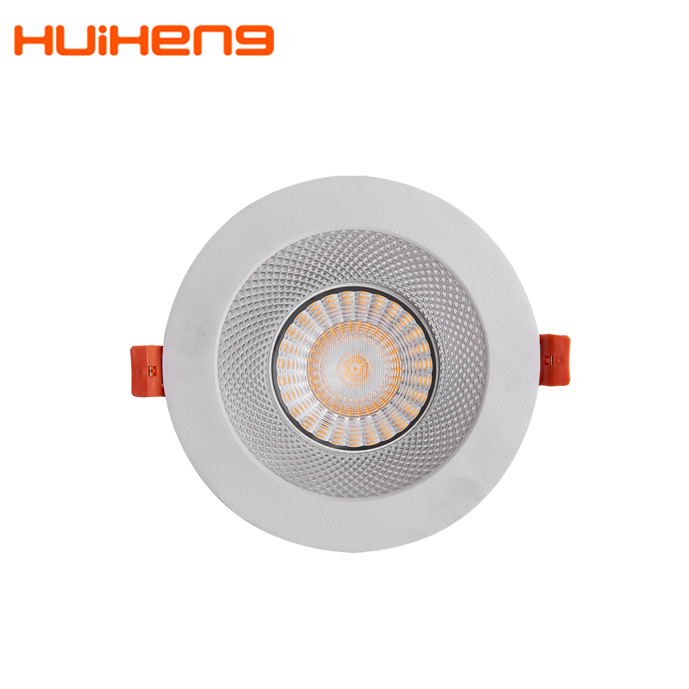 Plc 18w 165mm Dimmable Rgbw Dmx 200mm 120mm 100mm קוטר LED Downlight עם 125mm 170mm 180mm 185mm לחתוך החוצה