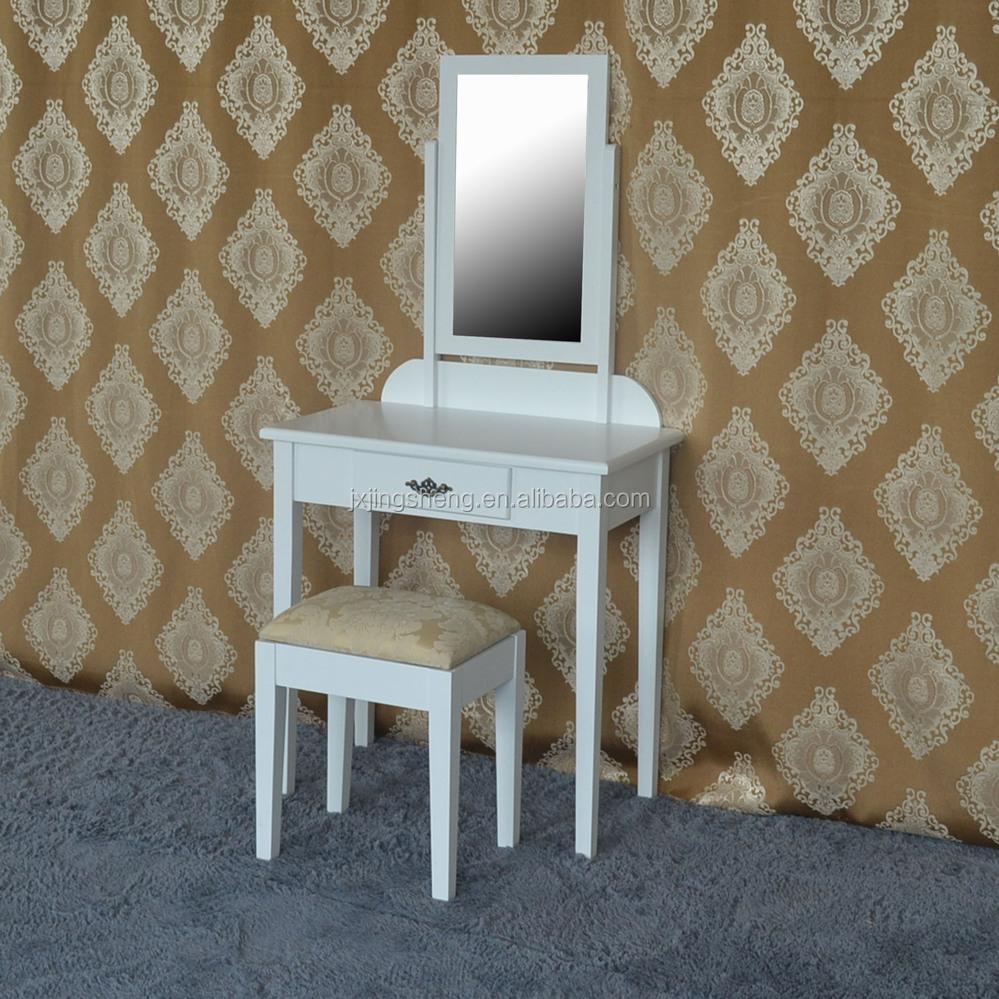 Moderne slaapkamer meubilair make-up kaptafel met spiegel bureau ...