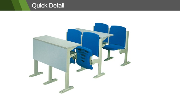 Cheap study table on sale plastic chairs and tables for college JT-09P-1