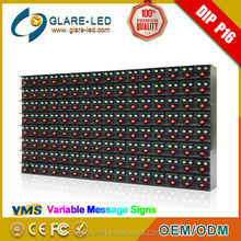 P10 P16 Outdoor Full Color VMS Led Display Board for Advertising Sianage