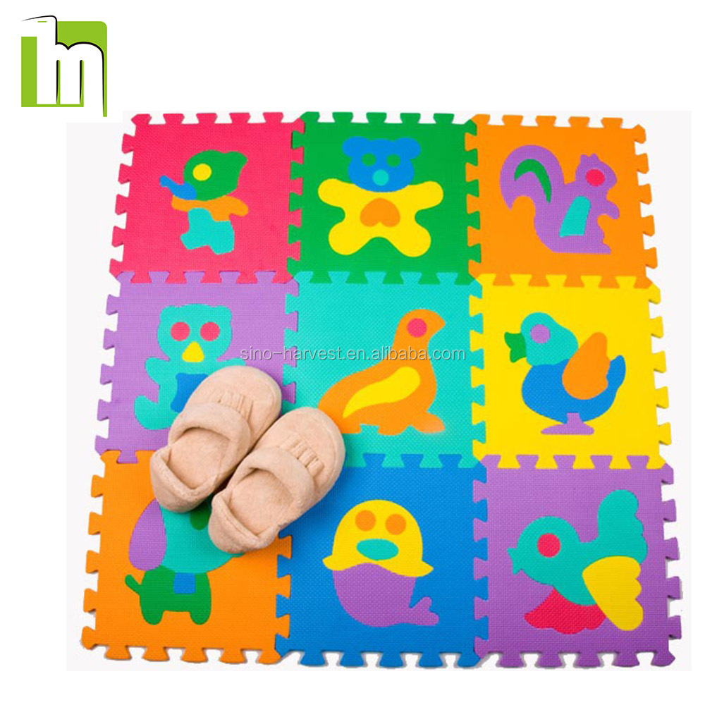 Eco- friendly Baby Play EVA Foam Puzzle Mat