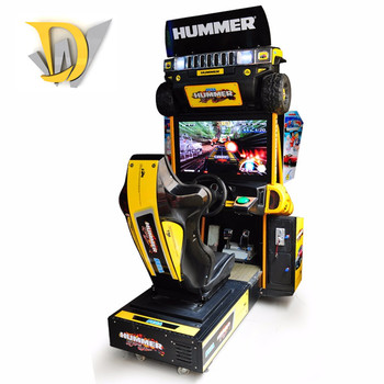32 LCD Hummer arcade driving and racing game machines