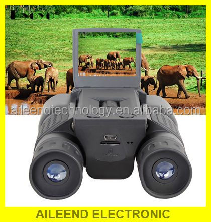 "2"" LCD HD 720P 12X32 Zoom Digital Binoculars Telescope Video Camera"