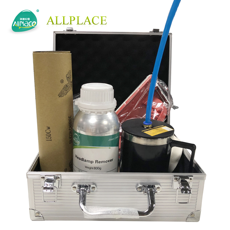 Allplace Newest 1100ml Headlight Surface Polishing Repair Headlight Restoration Kit