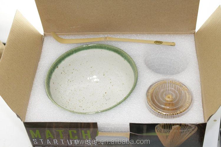china supplier bamboo material matcha green tea whisk with printing