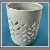 NEW Bath & Body Works 3-Wick Champagne Leaves Decorative Candle Sleeve Holder