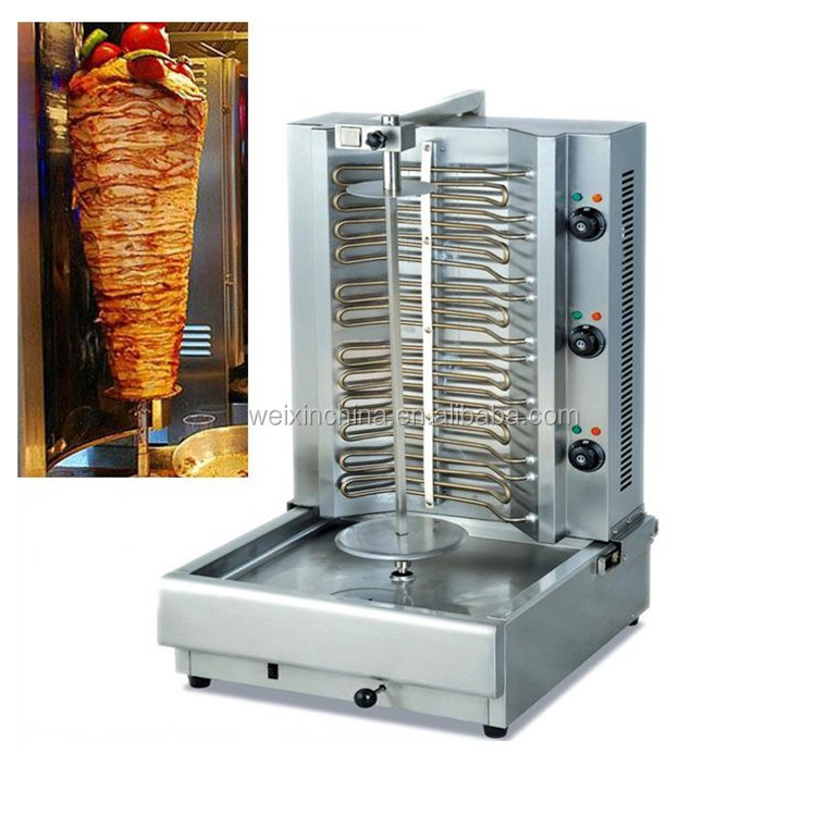 Electric Stainless Steel Turkish Broiler Shawarma Kebab ...