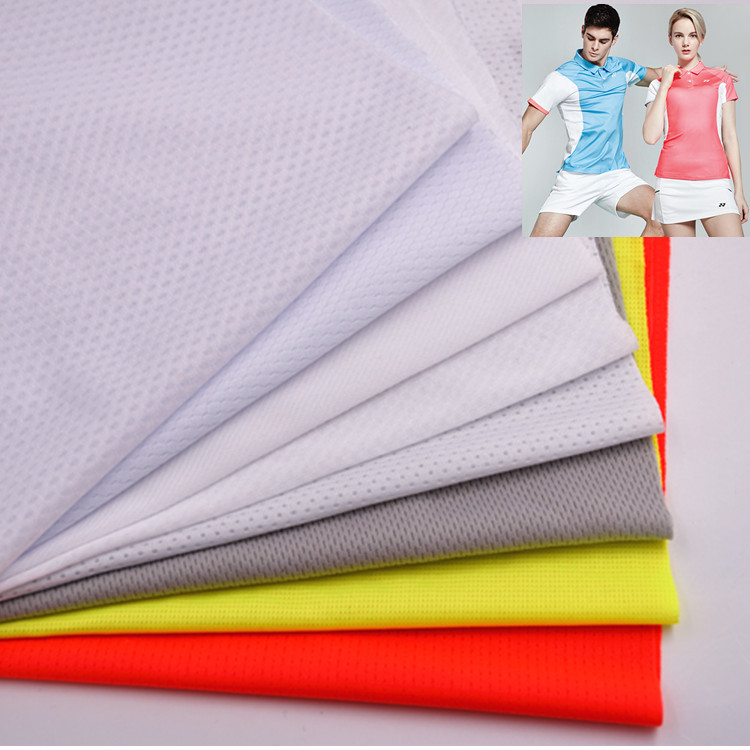 rapid dry lightweight mesh fabric for sportswear sweater T-shirt