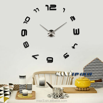 Large Wall Clock India Electronics Online Decorative Wall Clocks