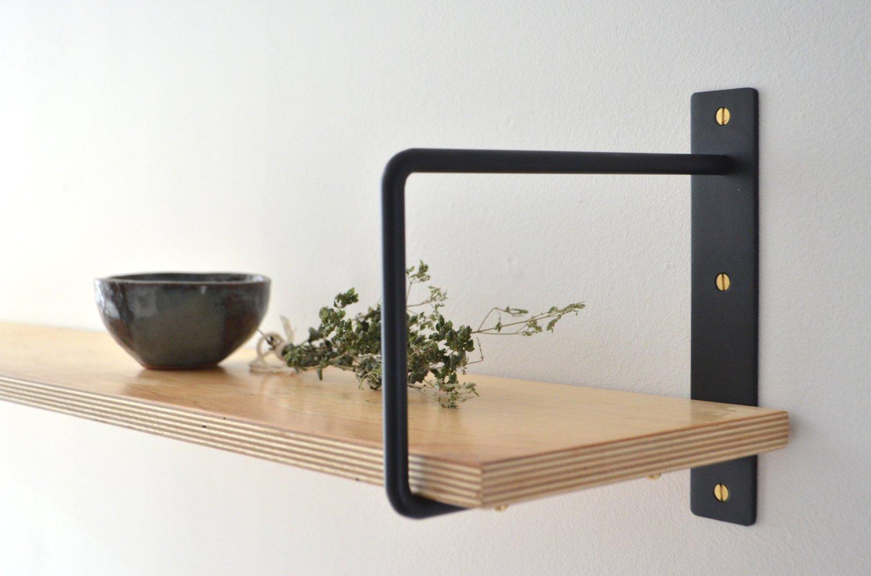 Plywood Kitchen Cabinet Shelf Bracket