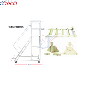 collapsible industrial steel used ladder for sale