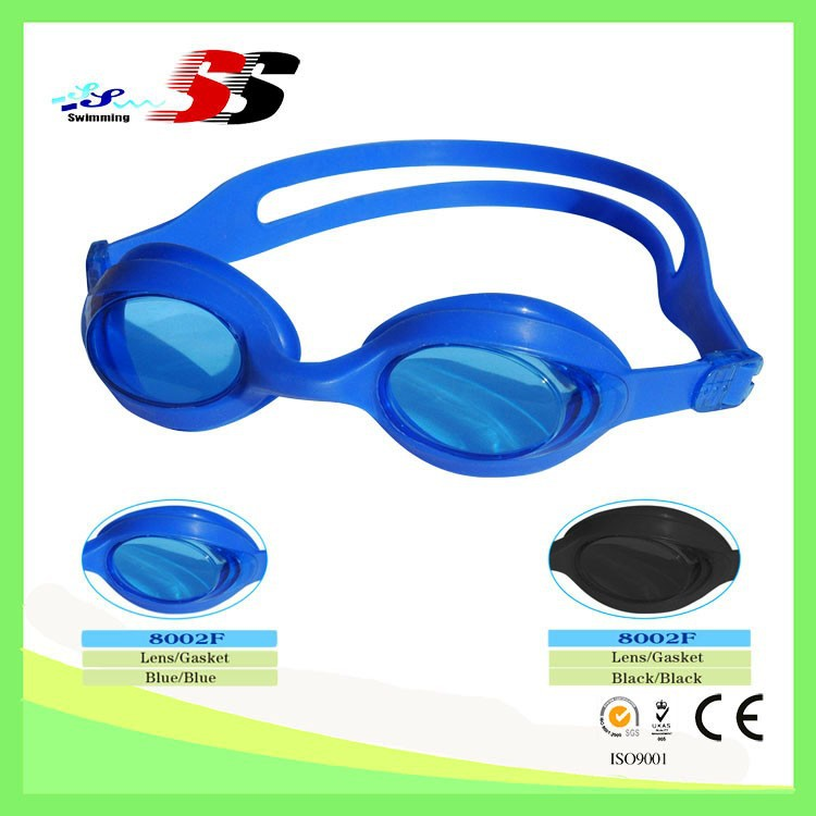 Wholesale Professional Waterproof Mirror Coated Swimming Goggles