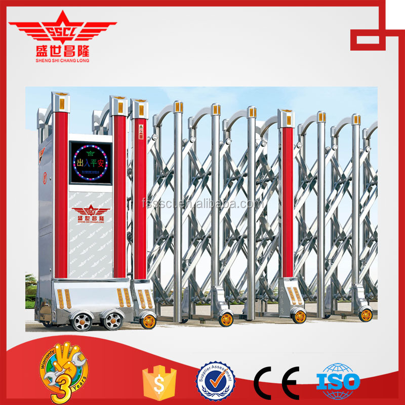 apartment main gate designs electric retractable gate universal remote control for gate-J1507