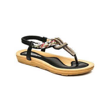 8795c40dd Woman sandal shoe new design, low price flat ladies fancy sandal, new  designs flat