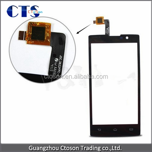 Replacement Front Glass for philips w3500 Module touch screen panel display digitizer lcd