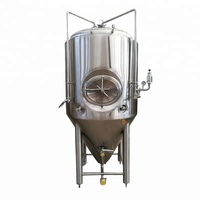 400L Beer Brewery equipment fermentation tanks for pub beer brewing