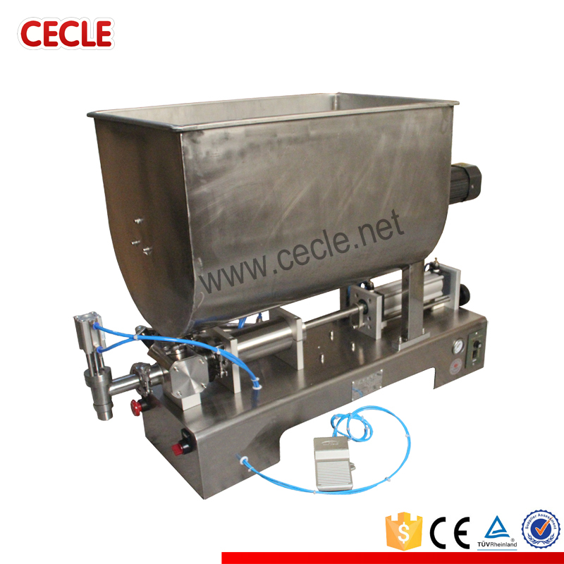 FF6B-600 salad and spice bottle filling machine