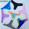 New 2016 Women s Sexy Hawaiian Brazilian Tanga Bikini Swimwear Bathing Suit Semi Thong Bottom S