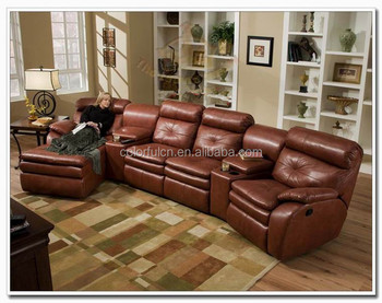 Hot Sales Recliner Sofa Sleeper Couch Ls 602a Leather Sofa