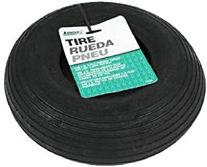 """Arnold Wheelbarrow Tire Rib Tread 13"""" Dia"""