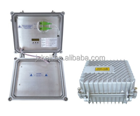 outdoor 1550nm erbium-doped optical fiber amplifier EDFA with low noise figure