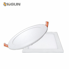 Shenzhen 6W 12W 15W 18W Led Panel Light Fixture Warm White Ceiling Down Lights