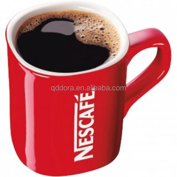 nestle mugs, ceramic red cup nescafe cup