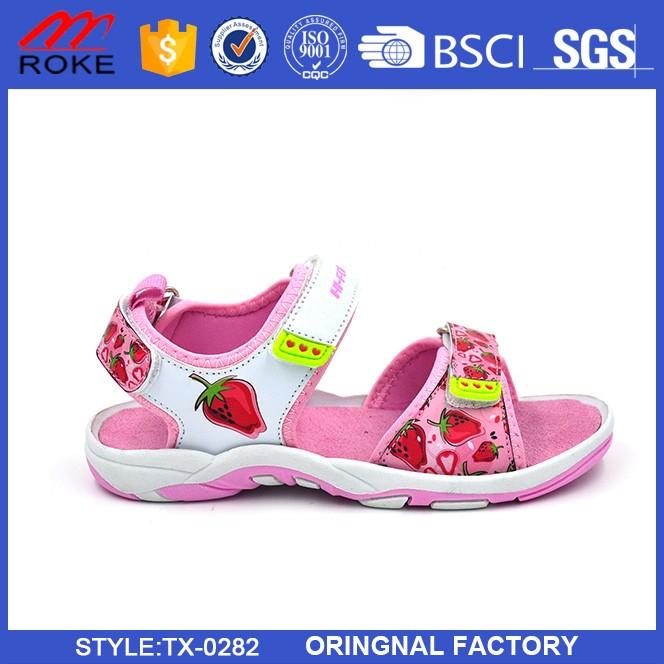 Summer Two-Strap Children Sandal Comfortable Fancy Girls Sandals
