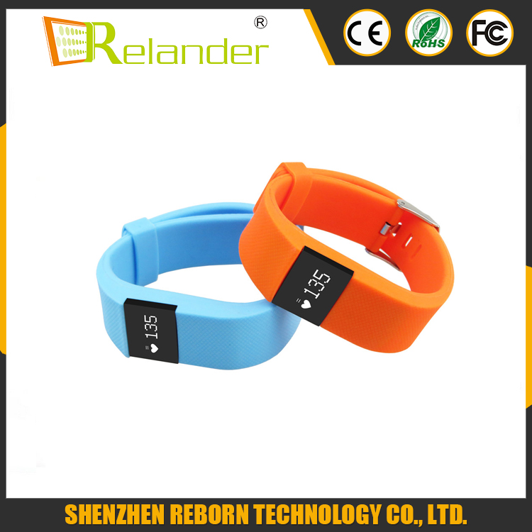 2016 Hot selling !!! In-call reminder fitness smartwatch / smart bracelet / smart watch heart rate with CE ROHS
