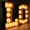 Illuminated 4ft LOVE Electronic Wedding Custom Advertising Marquee Wall Led Channel Letter Sign