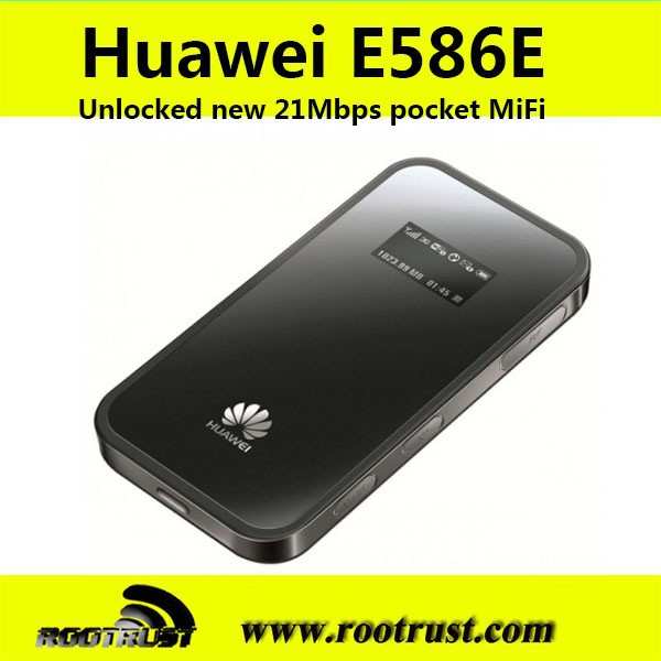 Unlock huawei e586 portable 3g wifi router with external antenna with sim card slot