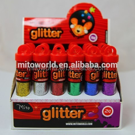 manufacture silver PET glitter for paper printing