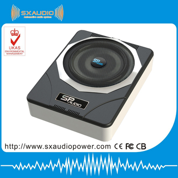 Latest 8inch Underseat Subwoofer Release Slim Subwoofer For Car