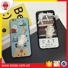 Manufacturer of Finger Pinch 3D Kneading Squishy Custom Design Phone Case Smart Squishy Squeeze Toy
