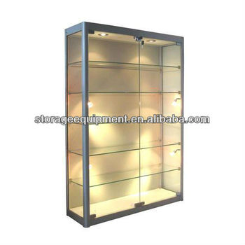 Exceptionnel Glass Display Showcase Cabinet