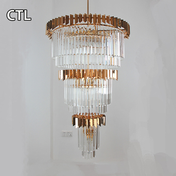 Modern hotel lobby luxury crystal hanging light big k9 crystal modern hotel lobby luxury crystal hanging light big k9 crystal chandelier lighting made in china aloadofball Images