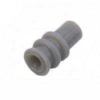 Mechanical waterproof silicone rubber wire seal for auto connector 963530-1