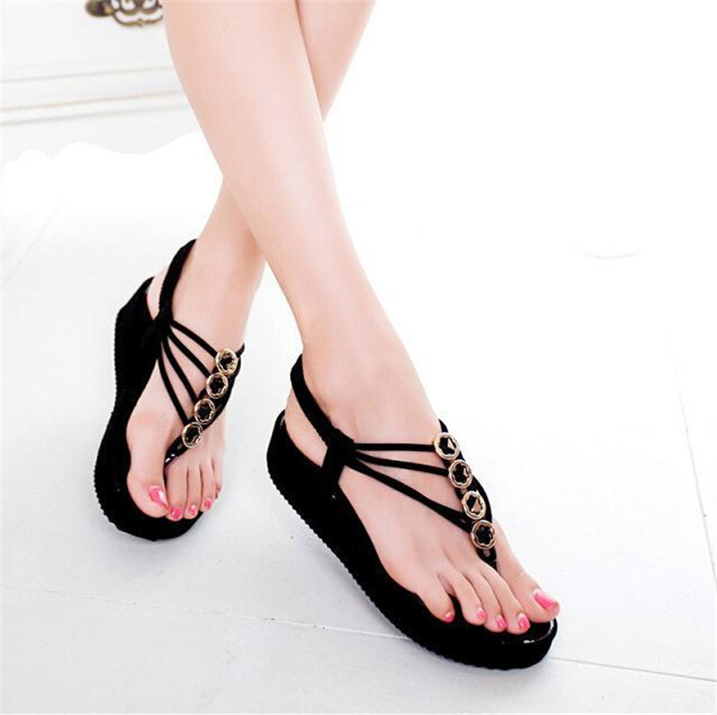 464b7282009c Buy Sweet Beautiful China Wholesale Flat Sandals Women New Style Fashion  Comfort Flip Flop 2015 Low Lady Summer Beach Shoes 123 in Cheap Price on  Alibaba. ...