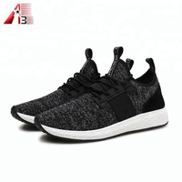 New fashion breathable mesh fabric sport jogging shoes for man