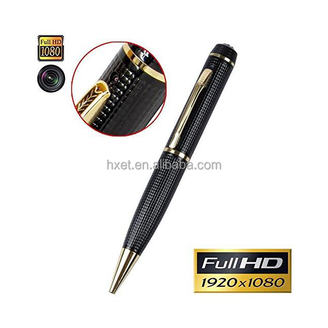 Verborgen spy pen wifi ip camera, 360 graden full 1080 p hd pen spy camera met geschenkdoos