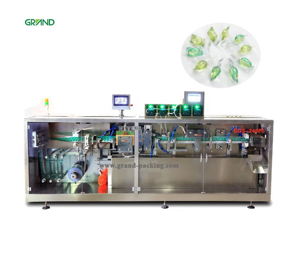JDZ 120 P Volledig Automatische fles verpakking cartoning verpakking machine fabrikant