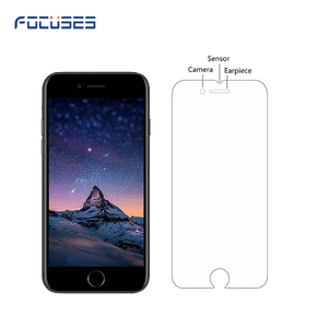 Cheap price 9H explosion-proof touch screen tempered glass film for apple iphone 6 6s tempered glass screen protector