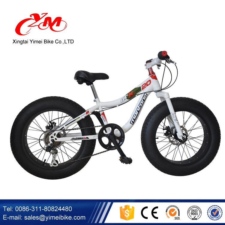 Riding On The Beach Fat Tire Mountain Bike Cruiser Bicycle Big Wheels 4 8
