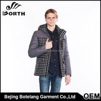 Men cotton padded coat new brand winter men's wadded fashion warm man winter jacket greatcoat clothing
