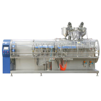 high grade high packing efficiency aseptic pouch filling machine